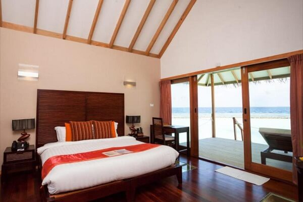 Junior Water Villa at Vakarufalhi Island Resort Maldives