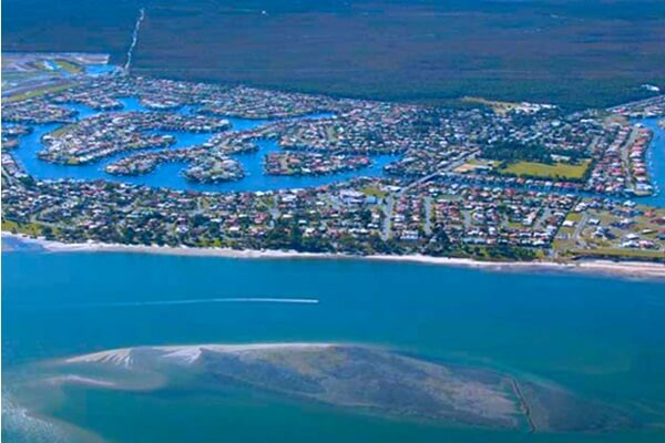 Pacific Harbour at Bribie Island