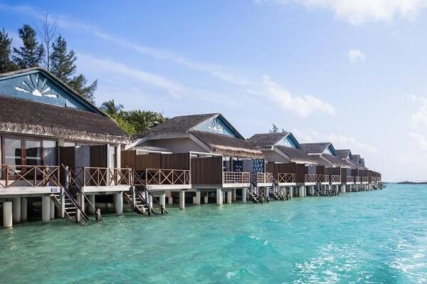 Overwater Villas at Taj Coral Reef Resort and Spa Maldives